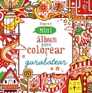 Mini álbum para colorear y garabatear (rojo)