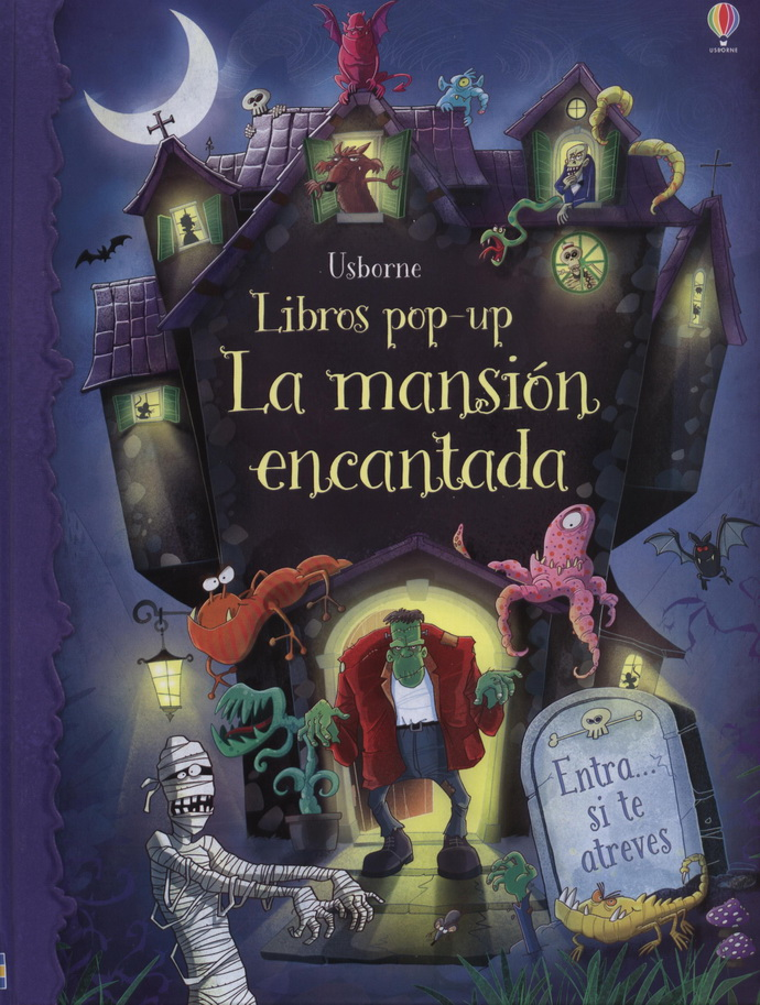 Mansión encantada, La (libro pop-up)
